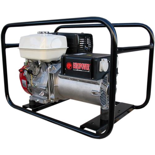 Генератор бензиновый Europower EP 6500 T 3X230V для ж/д в Родникие