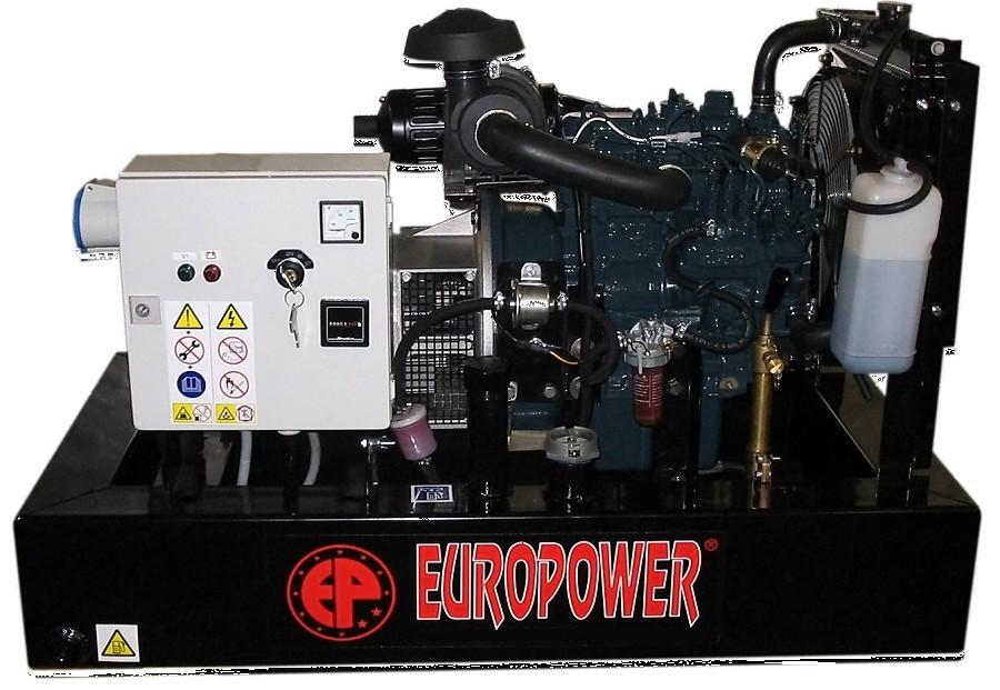 Генератор дизельный Europower EP 30 DE в Родникие