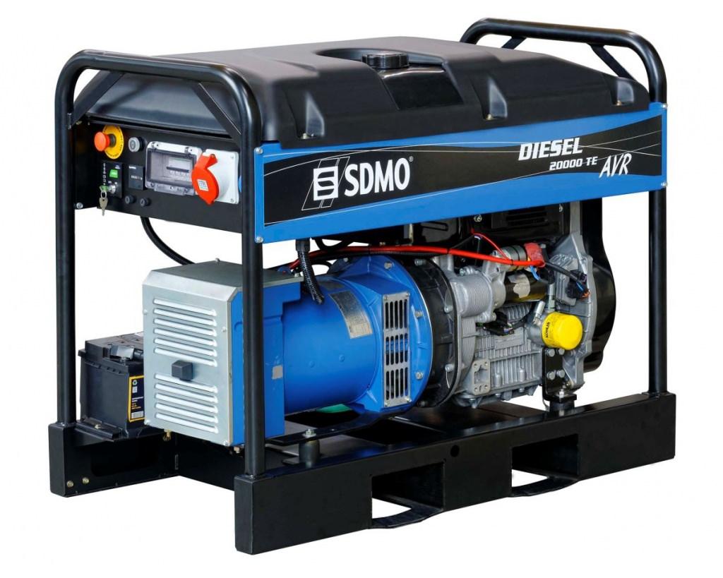 Генератор SDMO DIESEL 20000 TE XL AVR C в Родникие