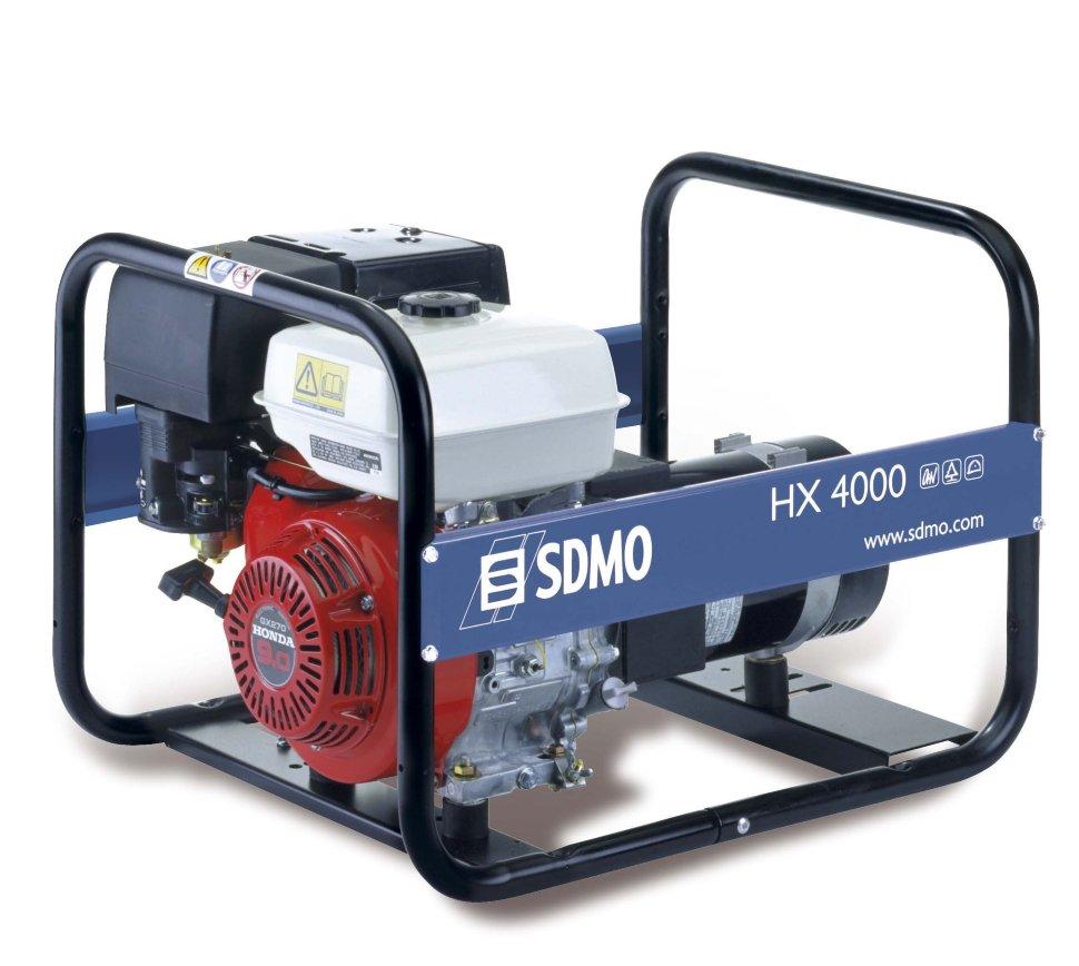 Генератор SDMO HX 4000-S в Родникие