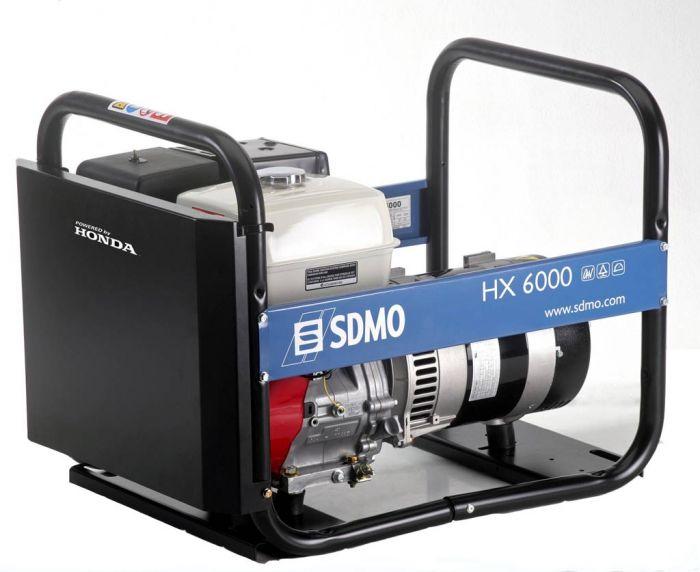 Генератор SDMO HX 6000-S в Родникие